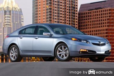 Insurance rates Acura TL in Honolulu