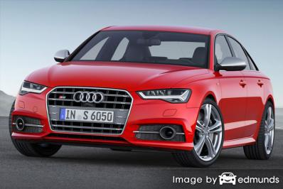Insurance quote for Audi S6 in Honolulu
