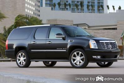 Insurance rates Cadillac Escalade ESV in Honolulu