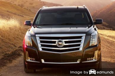 Insurance rates Cadillac Escalade in Honolulu