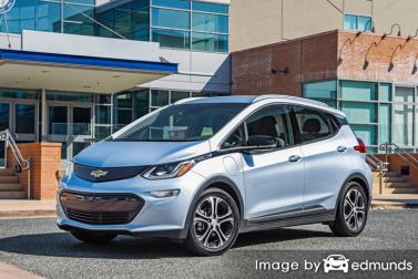 Insurance rates Chevy Bolt EV in Honolulu