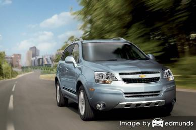 Insurance quote for Chevy Captiva Sport in Honolulu