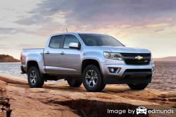 Insurance quote for Chevy Colorado in Honolulu