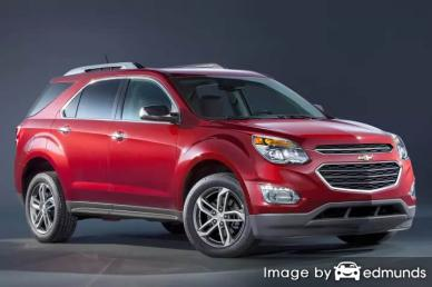 Insurance quote for Chevy Equinox in Honolulu