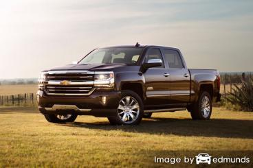 Insurance quote for Chevy Silverado in Honolulu