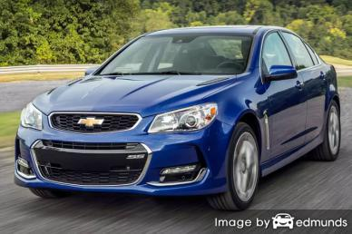 Insurance rates Chevy SS in Honolulu