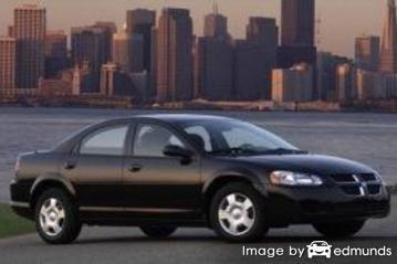 Insurance rates Dodge Stratus in Honolulu