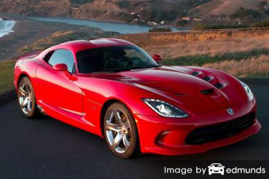 Insurance rates Dodge Viper in Honolulu