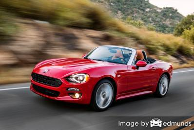 Insurance rates Fiat 124 Spider in Honolulu