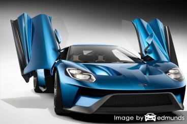 Insurance quote for Ford GT in Honolulu