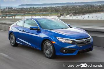 Insurance quote for Honda Civic in Honolulu