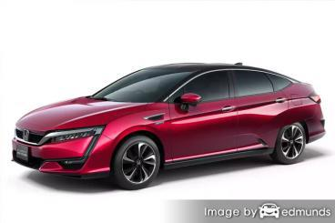 Insurance quote for Honda Clarity in Honolulu