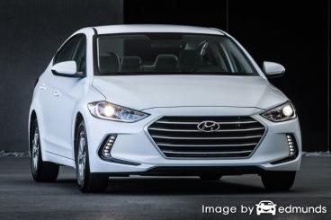 Insurance quote for Hyundai Elantra in Honolulu