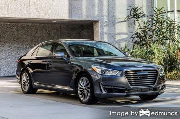 Insurance quote for Hyundai G90 in Honolulu