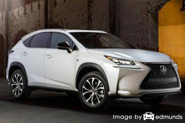 Insurance quote for Lexus NX 200t in Honolulu