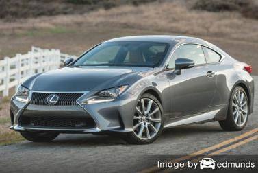 Discount Lexus RC 300 insurance