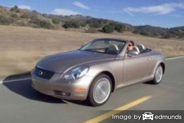 Insurance quote for Lexus SC 430 in Honolulu
