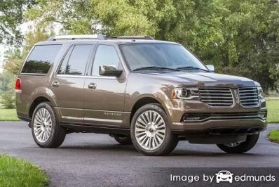 Insurance rates Lincoln Navigator in Honolulu