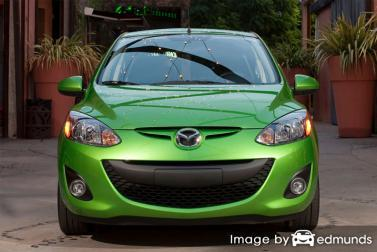 Insurance quote for Mazda 2 in Honolulu