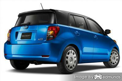 Insurance quote for Scion xD in Honolulu