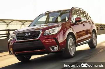 Insurance quote for Subaru Forester in Honolulu