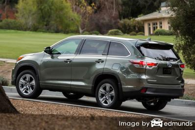 Insurance for Toyota Highlander Hybrid