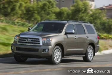 Insurance quote for Toyota Sequoia in Honolulu